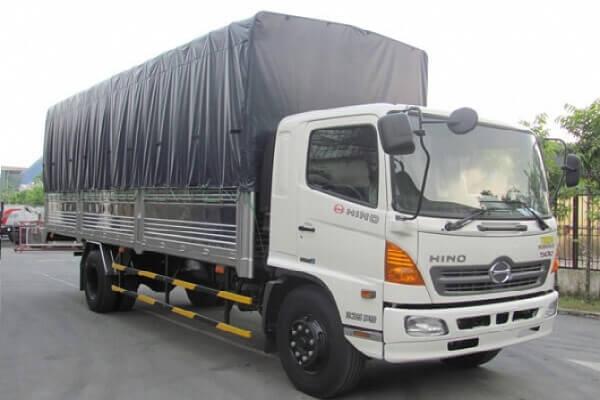 Cho thuê xe tải chở hàng quần áo, may mặc tại tphcm