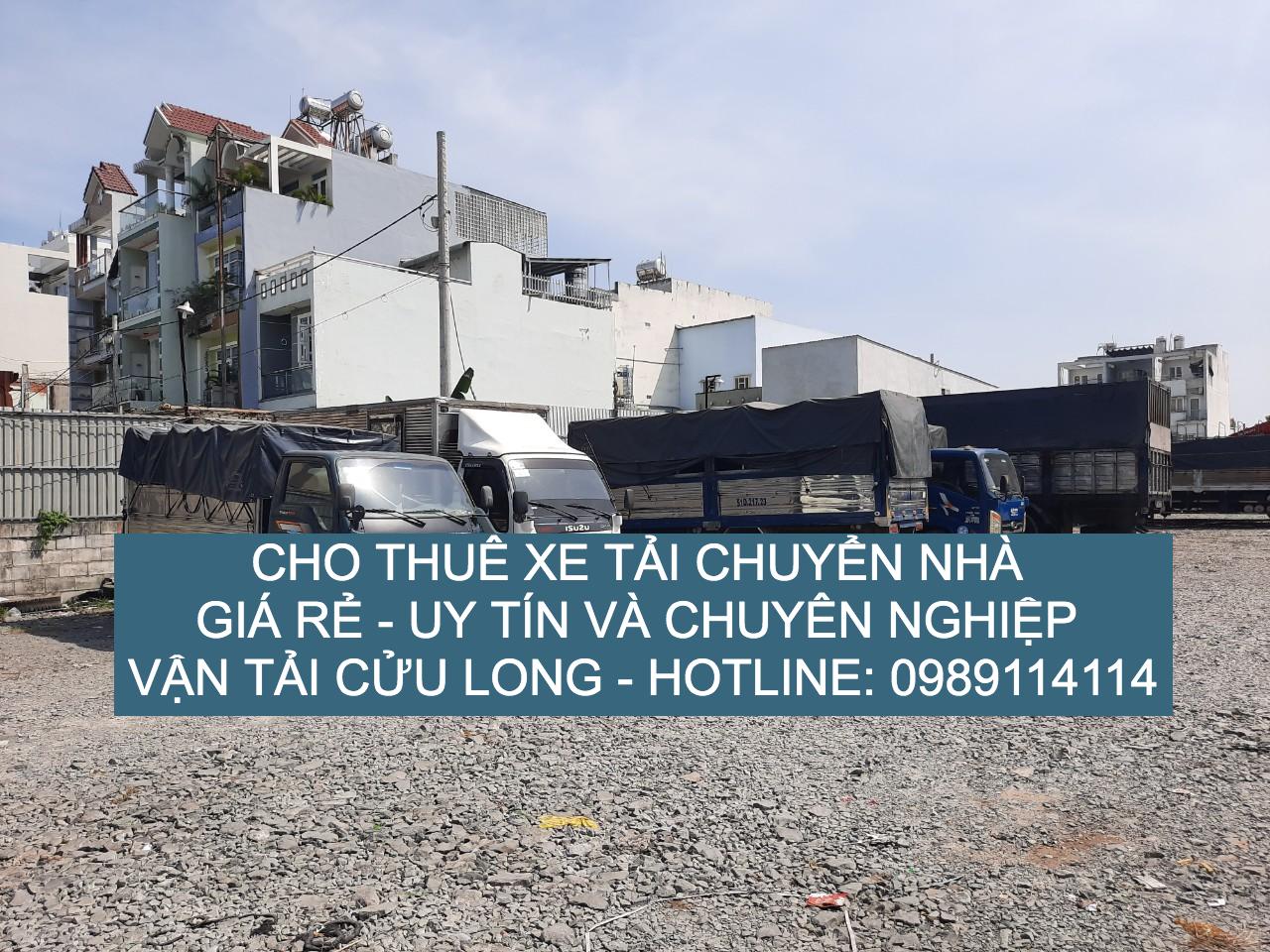 Dịch vụ cho thuê xe tải chuyển nhà uy tín và chuyên nghiệp– Vận tải Cửu Long