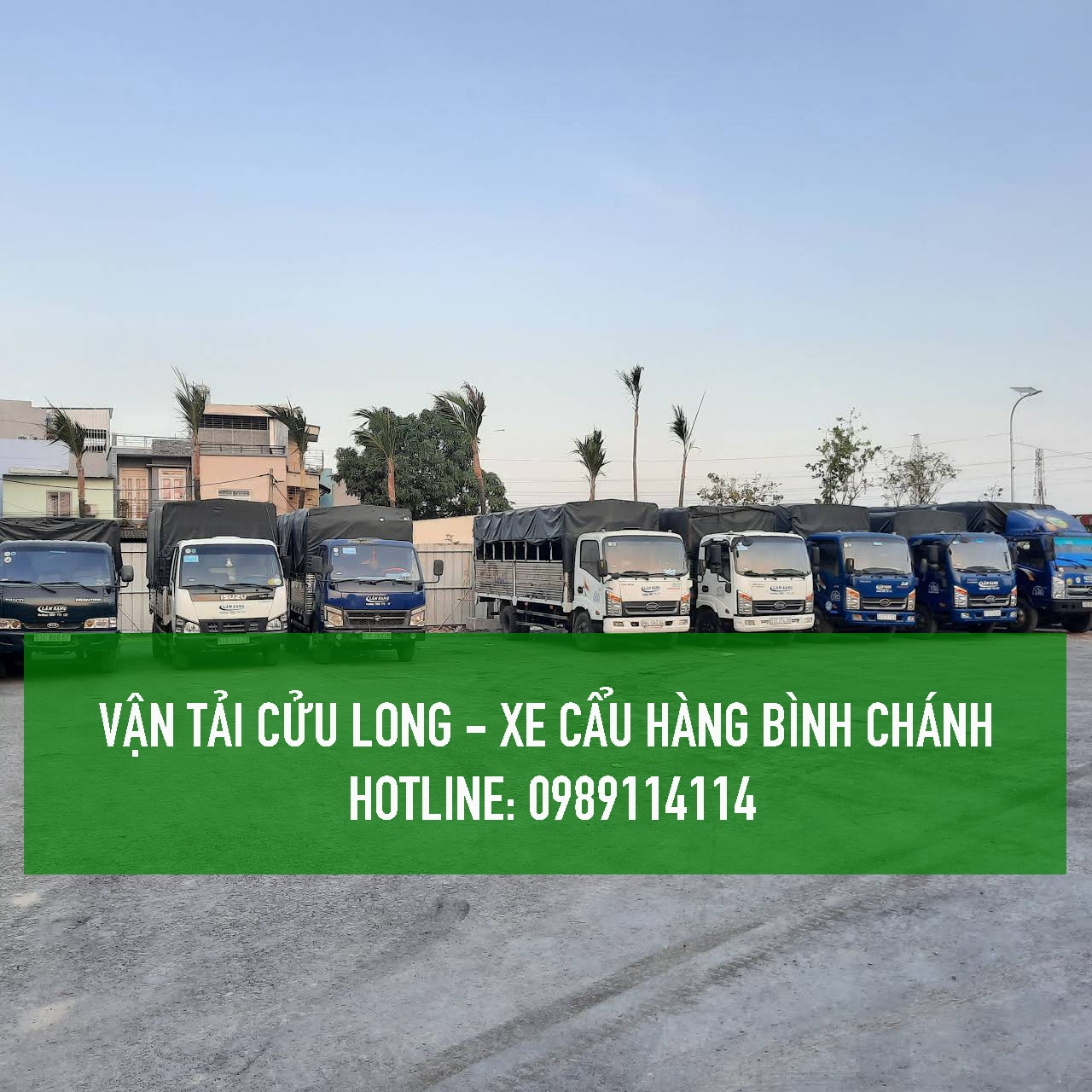 Dịch vụ cho thuê xe cẩu hàng tại Huyện Bình Chánh – [ Uy tín – Giá rẻ ]