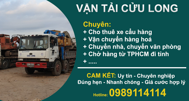 Dịch vụ chuyên chở hàng hoá