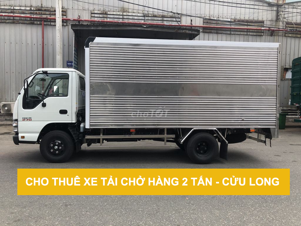 Xe tải chở hàng 2 tấn cho thuê giá rẻ tại tphcm