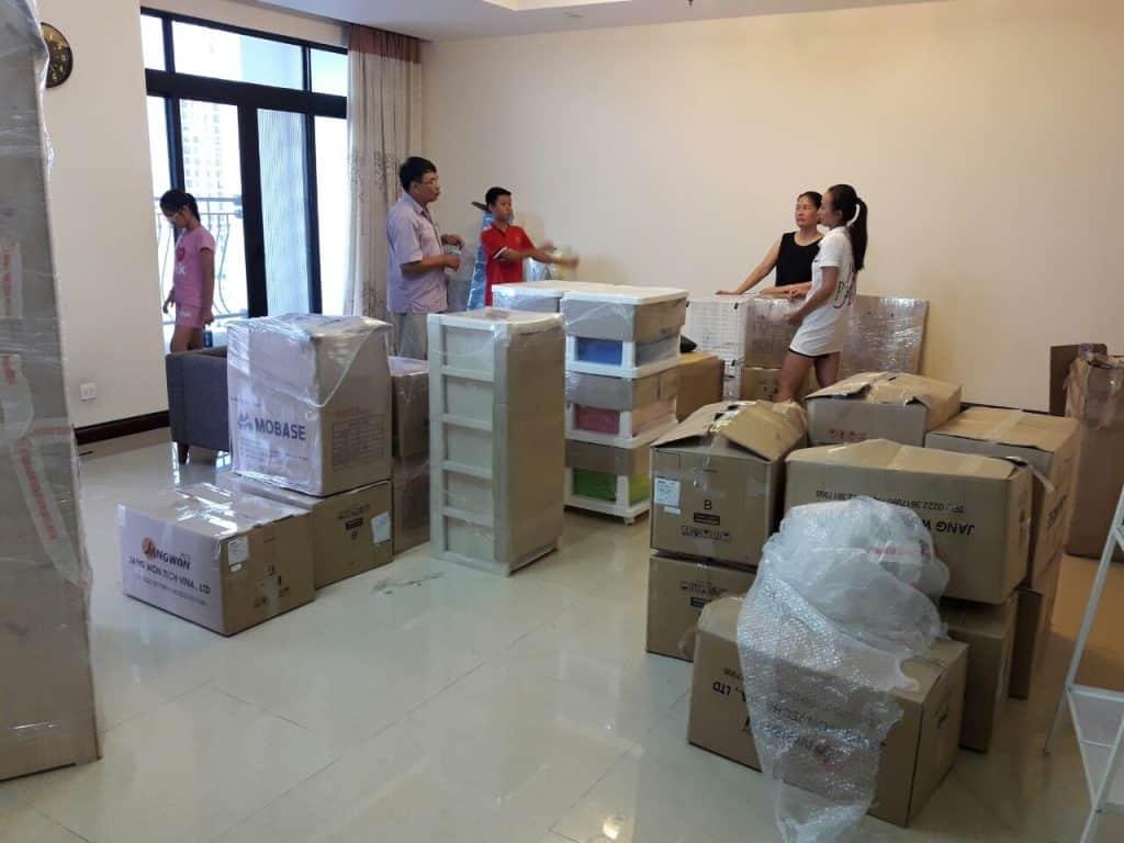 Dịch vụ chuyển dọn nhà trọn gói giá rẻ và uy tín