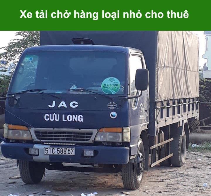 xe tải chở hàng loại nhỏ cho thuê giá rẻ