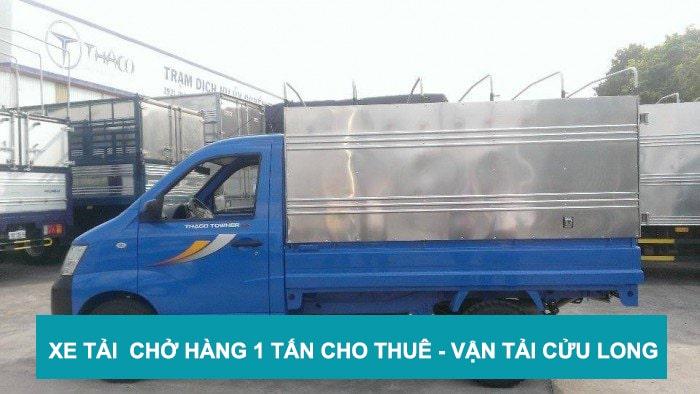 Cho thuê xe tải chở hàng 1 tấn - nhanh chóng - giả rẻ