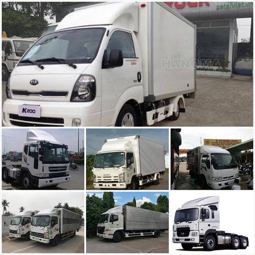 Dịch vụ cho thuê xe tải chở hàng Cửu Long
